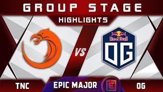 TNC vs OG [EPIC] EPICENTER Major 2019 Highlights Dota 2