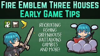 Early Game Tips for Beginners (Recruiting, Fishing, & More!) | Fire Emblem: Three Houses Guide