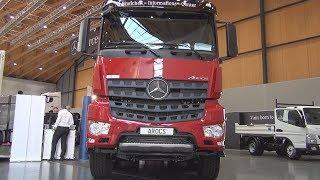 Mercedes-Benz Arocs 4145 Tipper Truck (2018) Exterior And Interior