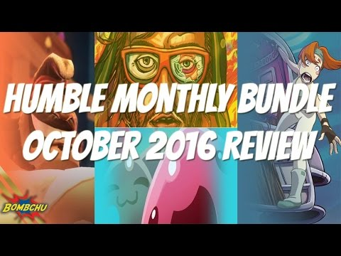 Humble Monthly Bundle | October 2016 Review Mp3