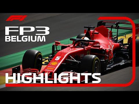 F1 2020 第7戦ベルギーGP(スパ・フランコルシャン)フリープラクティス3ハイライト動画