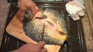 Как избавиться от мелких костей при жарке рыбы