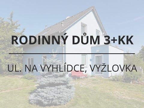 Prodej rodinného domu 114 m2 Na Vyhlídce, Vyžlovka