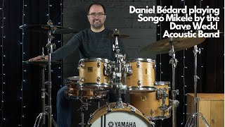 Daniel Bédard playing «Songo Mikele» by the Dave Weckl Acoustic Band
