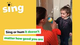 The NSPCC's new campaign encourages Kent parents to talk, sing and play with their baby