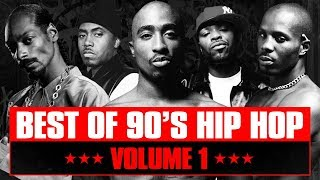 90's Hip Hop Mix #01 | Best of Old School Rap Songs | Throwback Rap Classics | Westcoast | Eastcoast
