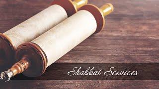 Shabbat Service - August 15, 2020