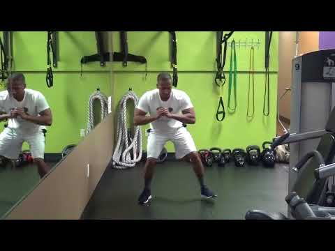 Lateral Step to Jump Squat