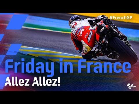 MotoGP 2021 第5戦フランス 金曜日のハイライト動画