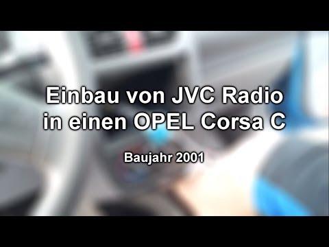 Autoradio JVC Opel Corsa C |HD| Deutsch/German