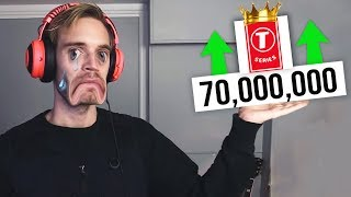 T-Series Hit 70 Million Subscribers...