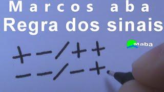 Regra dos Sinais ( mais com menos ...) - Matemática