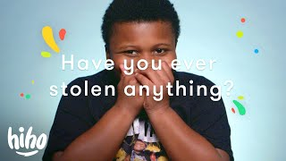 Have you ever stolen something? | 100 Kids | HiHo