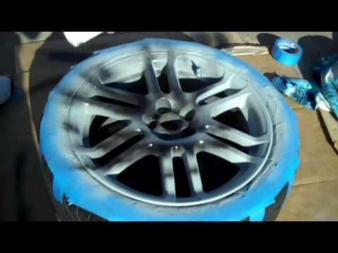 Painting Scion tC  wheels