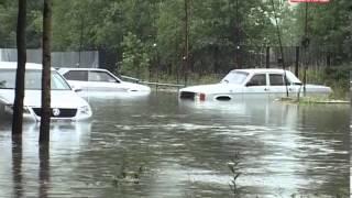 Последствия потопа в Ноябрьске