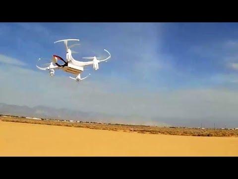 Eachine JJRC H8 World's Cheapest Drone Test Flight