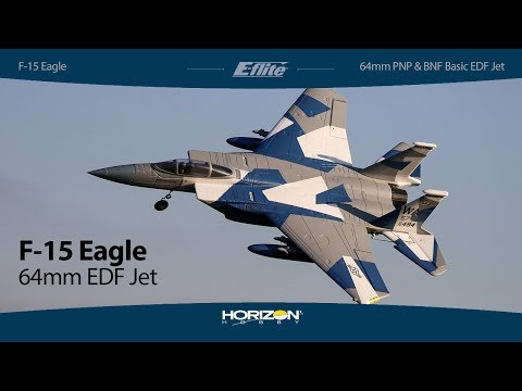 eflite®-f15-eagle-64mm-edf-pnp--bnf-basic-jet