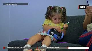 Корейские специалисты вернули голос двухлетней алматинке