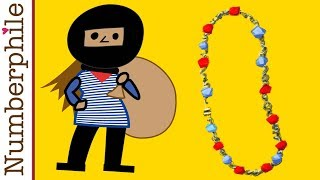 Necklace Splitting (a lesson for jewel thieves) - Numberphile