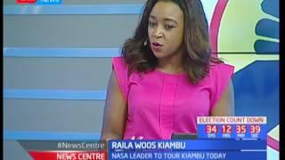 Raila woos Kiambu : In studio with Charles Kipkolei and Jesse Oduor