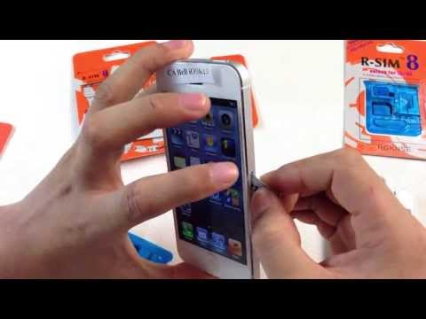 Download R-SIM8 ADVANCED IPHONE 5/4S UNLOCKING & ACTIVATION HD Mp4 3GP Video and MP3