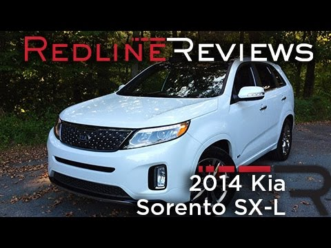 2014 Kia Sorento SX-L – Redline: Review