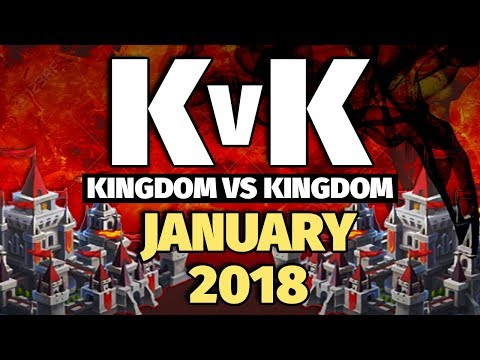 Lords Mobile - Jan 2018 KvK - 7 Million Kills