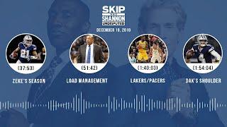 Zeke's season, Load management, Lakers/Pacers, Dak's shoulder   UNDISPUTED Audio Podcast