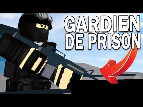JE DEVIENS UN GARDIEN DE PRISON ! | Roblox !