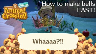 Animal Crossing New Horizons: How to Make Bells Fast | Rare Beetle Farming Guide