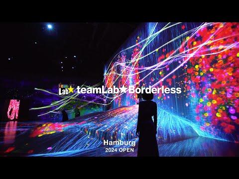 teamLab Borderless Hamburg: Digital Art Museum