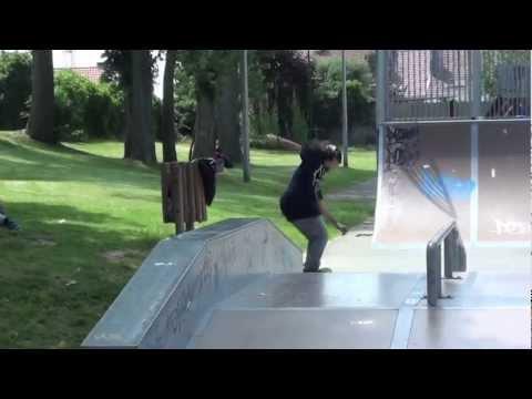 AurA Brédart @LIDL skatepark