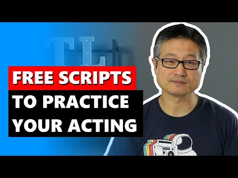 Practice Acting at Home with Free Movie Scripts Online