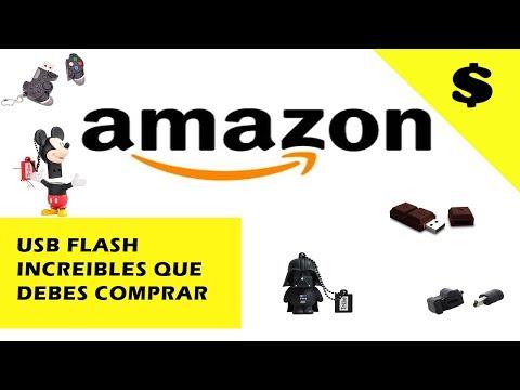 memorias USB personalizadas que puedes comprar en AMAZON