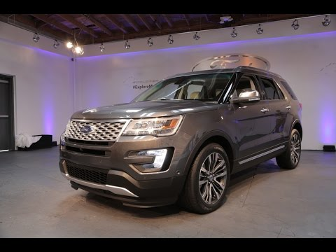 2016 Ford Explorer First Look - 2014 L.A. Auto Show