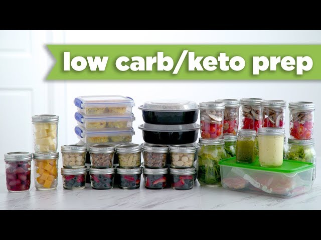 Keto/Low Carb Healthy Meal Prep For the Week! – Mind Over Munch