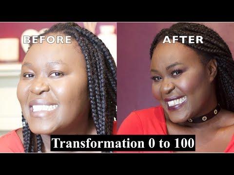 Beginner Friendly Affordable Drugstore Makeup Tutorial on Brown/Dark Skin