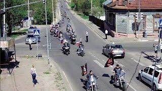 Фрагмент открытия мотосезона 2018 в Серпухове... 05 мая 2018г.