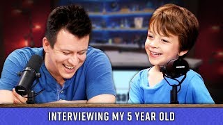 I Tried Interviewing My 5 Year Old...