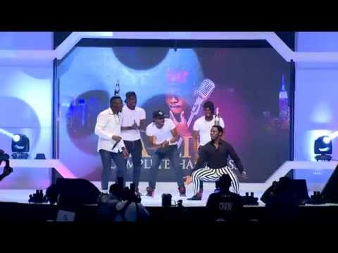 MC Galaxy Challenges Comedian AY to a Dance-off