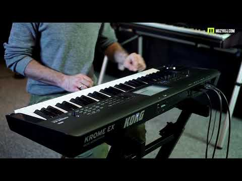 KORG KROME EX Multi ARP sounds