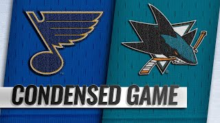 11/17/18 Condensed Game: Blues @ Sharks