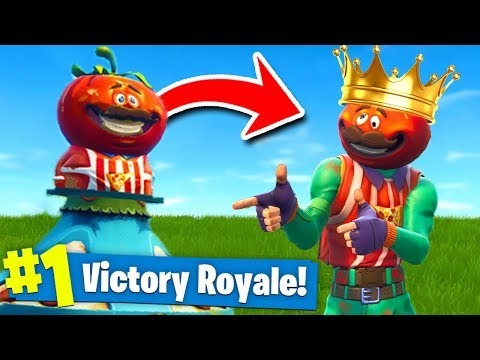 THE *KING* Of TOMATO TOWN CHALLENGE In Fortnite Battle Royale!