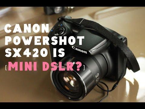 Canon Powershot SX420 IS Review : Mini DSLR
