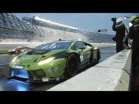 Lamborghini at the Daytona 24 Hours: relive the race
