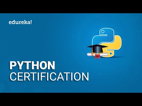 Python Certification   Data Science with Python Certification   Python ...