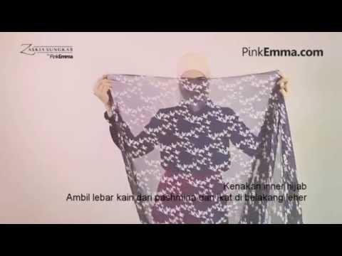Video Zaskia Sungkar Tutorial Hijab Simple Tanpa Peniti