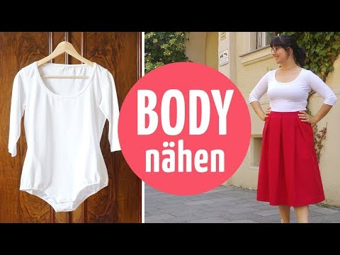 Bequemen Body nähen // Schnittmuster- und Näh-Anleitung