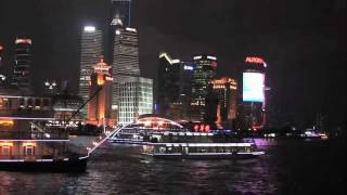preview picture of video 'Shanghai Night From The Bund'