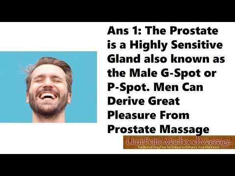 Se il massaggio prostatico non fa male